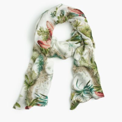 Pierre Frey™ for J.Crew scarf in in Alexandrie print