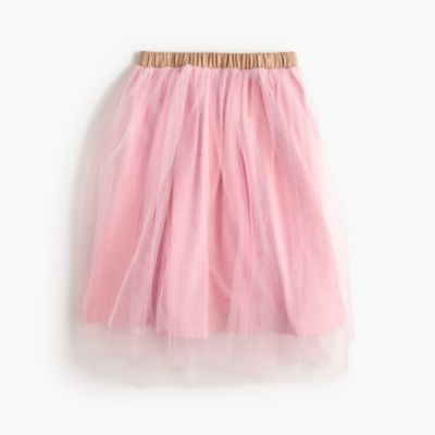 Girls' tulle ballet skirt