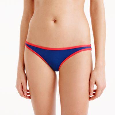 Tipped lowrider hipster bikini bottom