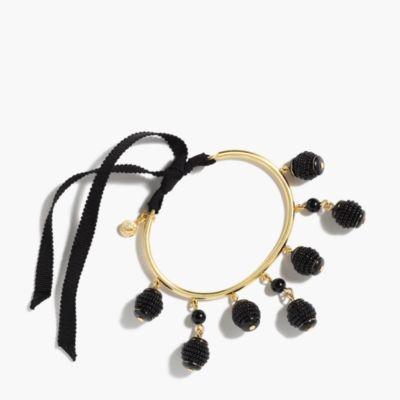 Embellished beaded bracelet