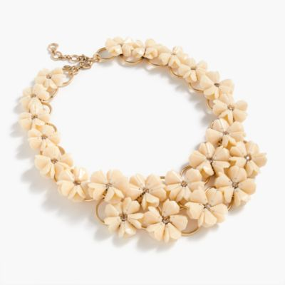 Petunia necklace