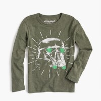 Kids' Star Wars for crewcuts Death Trooper helmet T-shirt