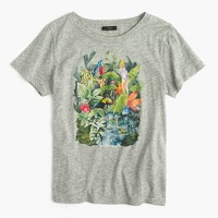 Marcel George™ for J.Crew jungle watercolor T-shirt