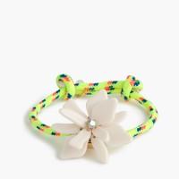 Girls' flower friendship bracelet