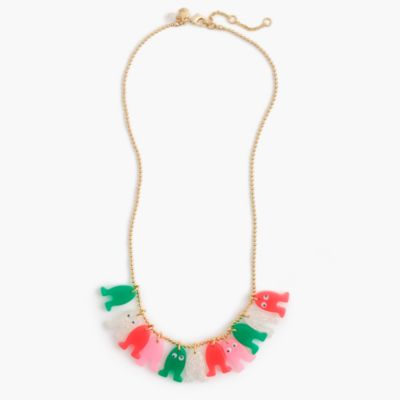 Girls' Max the Monster cluster necklace