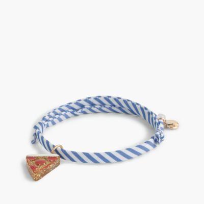 Girls' knot charm bracelet