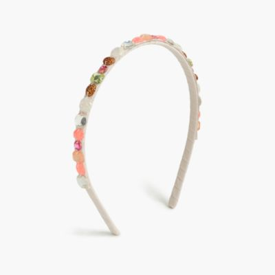 Girls' sparkly gems headband