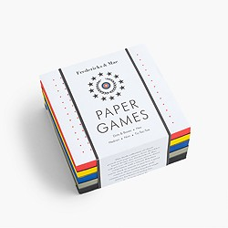 Fredericks & Mae™ paper games