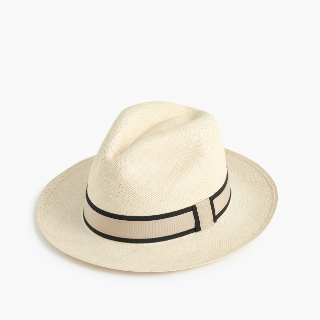 Panama hat with double band