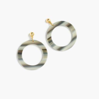 Fun circle earrings