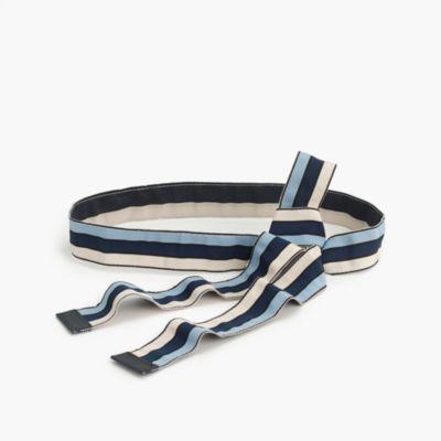 Reversible ribbon belt