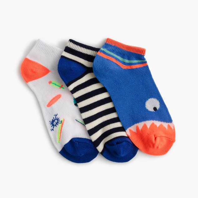 Boys' Max the Monster ankle socks three-pack
