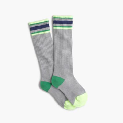 Boys' tall athletic socks
