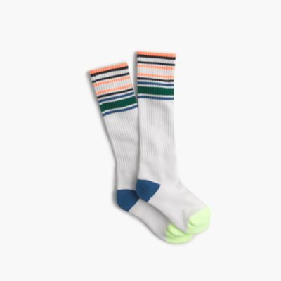 Boys' tall tennis athletic socks
