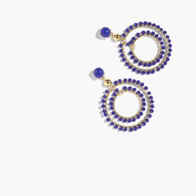 Double-hoop earrings