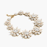 Star floral necklace