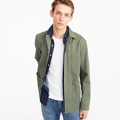 Wallace & Barnes military shirt-jacket