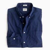 Tall garment-dyed shirt