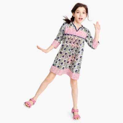 SZ Blockprints® for J.Crew kids' dress