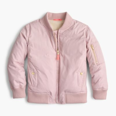Girls' bomber jacket