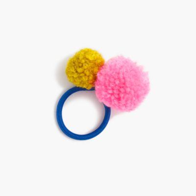 Gaia™ pom-pom hair tie