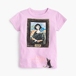 Girls' Olive and Izzy museum T-shirt