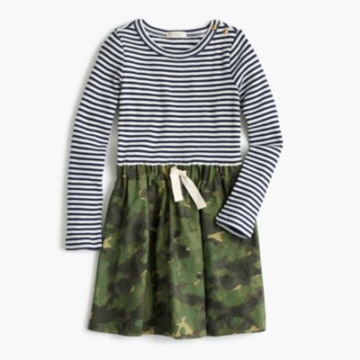 Girls' army-navy dress
