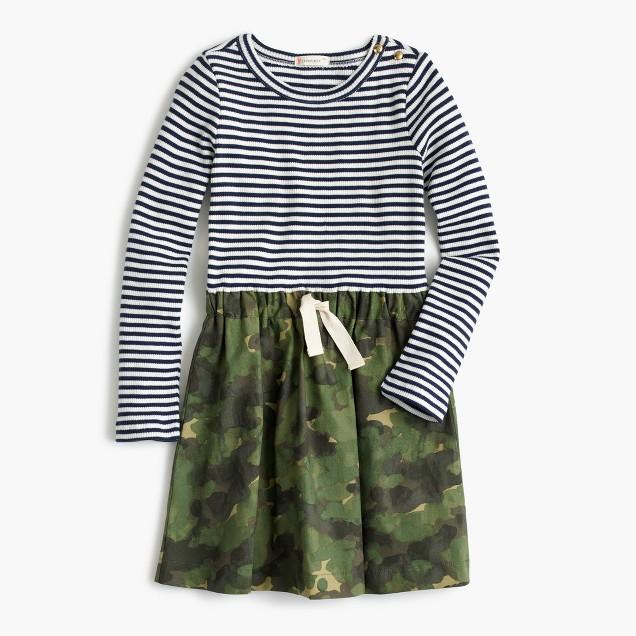 Girls' army-navy dress