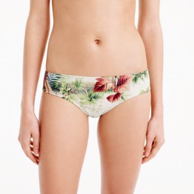 Pierre Frey™ for J.Crew Surf hipster bikini bottom in Alexandrie print