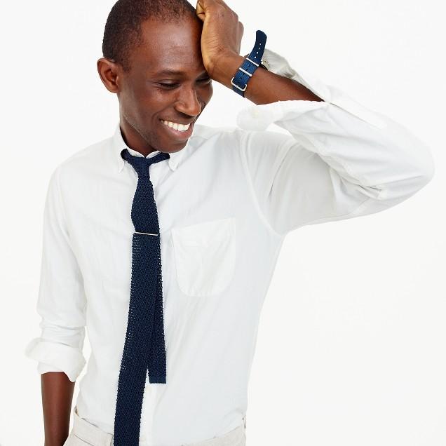 Slim American Pima cotton oxford shirt