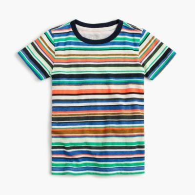 Boys' mixed-stripe T-shirt