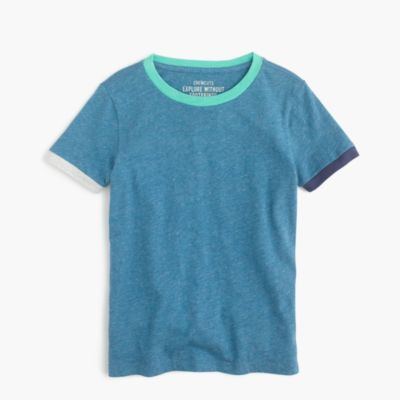 Boys' colorblock ringer slub T-shirt