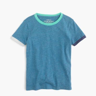 Boys' colorblock ringer slub T-shirt