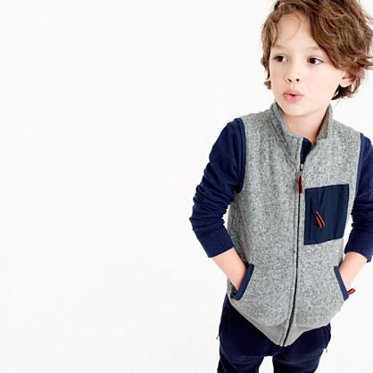Boys' Summit fleece vest