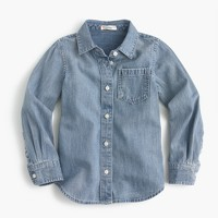 Girls' 365 chambray shirt