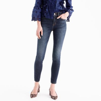 "Tall9"" high-rise toothpick jean in Solano wash"
