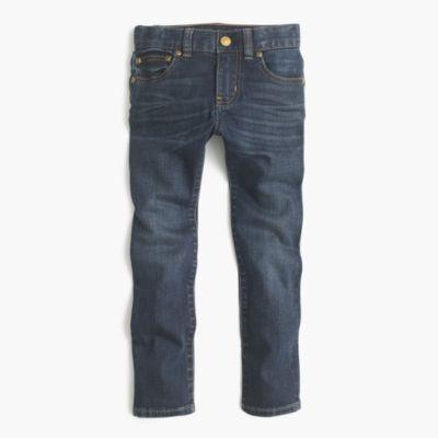 Boys' dark-wash jean in stretch skinny fit