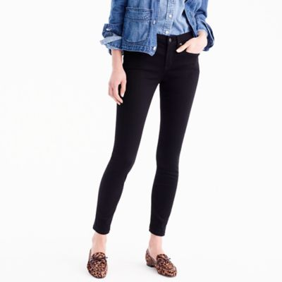 "Tall8"" toothpick jean in true black"