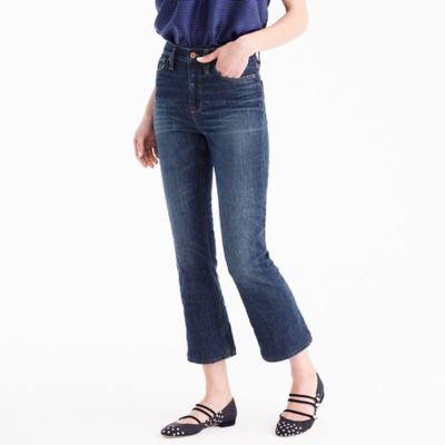 TallBillie demi-boot crop jean in Loma Vista wash