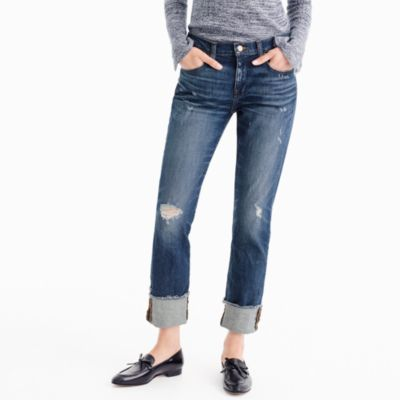 Tall slim boyfriend jean in Silverwood wash
