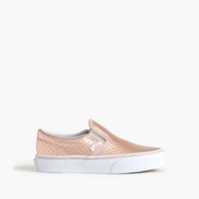 Girls' Vans® classic slip-on sneakers