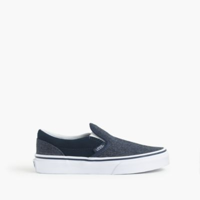 Kids' Vans® chambray slip-ons
