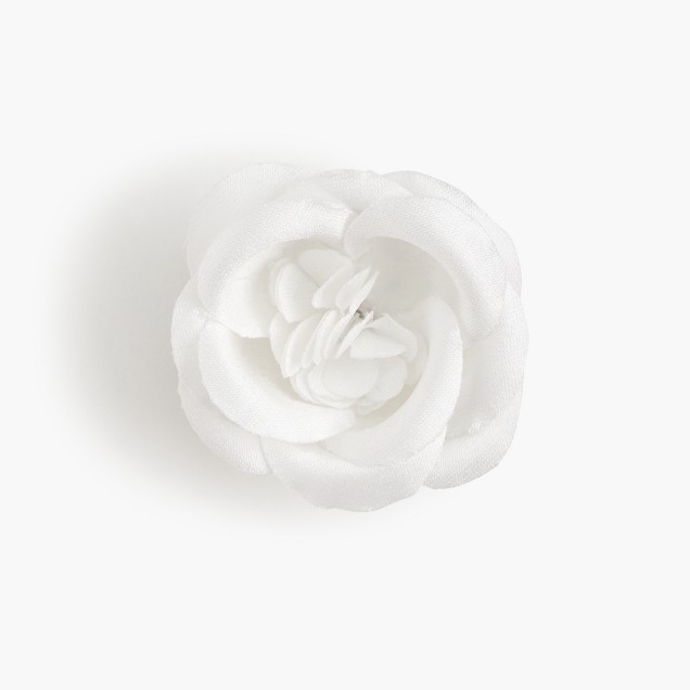 Hook + Albert™ white lapel pin