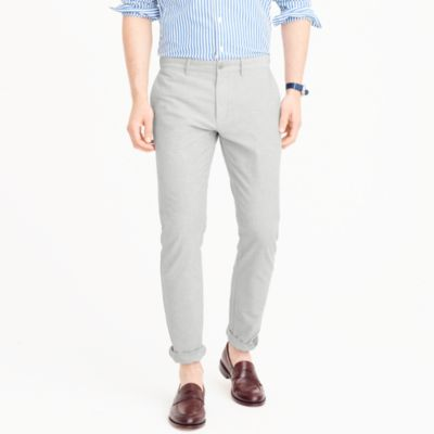 Stretch chambray pant in 484 slim fit