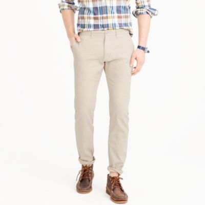 484 slim fit chino in stretch herringbone