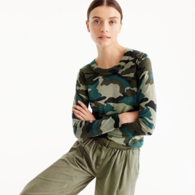 Tippi sweater in camouflage