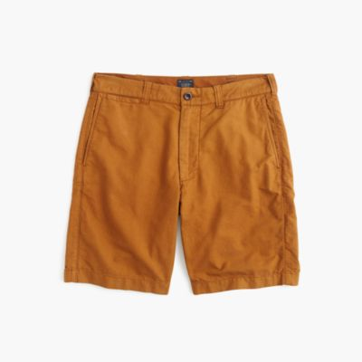 "9"" oxford short in brown"