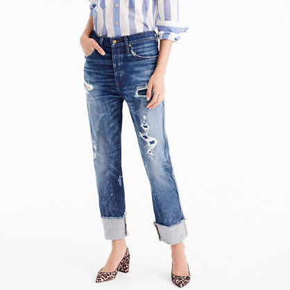 Point Sur relaxed Shoreditch straight jean