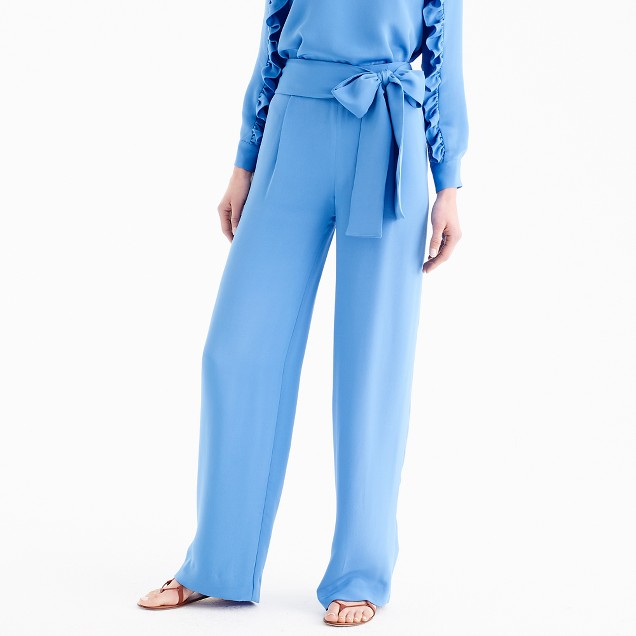 Collection tie-waist pant