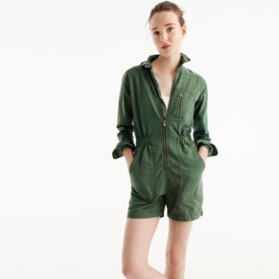 Romper in Tencel®-linen